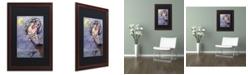 """Trademark Global Jennifer Nilsson Tattered Wings Matted Framed Art - 16"""" x 20"""" x 0.5"""""""