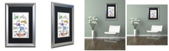 "Trademark Global Jennifer Nilsson Words of Love - Love in Action Matted Framed Art - 16"" x 20"" x 0.5"""