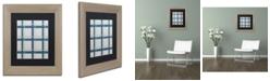 "Trademark Global Jennifer Nilsson Grey Blue Matted Framed Art - 16"" x 20"" x 0.5"""