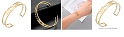 "ADORNIA ""WOKE"" cuff bracelet"