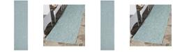 "Safavieh Courtyard Aqua 2'3"" x 8' Sisal Weave Runner Area Rug"