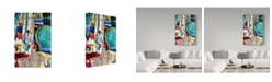 "Trademark Global David Spencer 'Saturday Morning' Canvas Art - 24"" x 16"" x 2"""