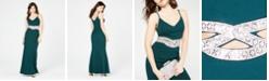 Speechless Juniors' Infinity-Waist Gown