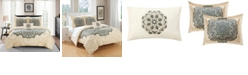Chic Home Mindy 8 Piece King Bed In a Bag Duvet Set