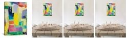 "iCanvas ""Urban Essay Xv"" By Kim Parker Gallery-Wrapped Canvas Print - 18"" x 12"" x 0.75"""