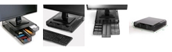 Mind Reader PC, Laptop, IMAC Monitor Stand and Desk Organizer Metal Mesh