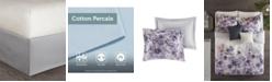 JLA Home Madison Park Enza Queen 7 Piece Cotton Printed Comforter Set