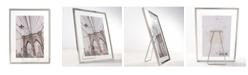 """Lawrence Frames Garett Silver Metal Float - 4"""" x 6"""""""