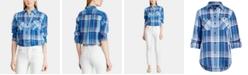 Lauren Ralph Lauren Plaid Cotton Shirt