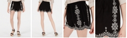 Be Bop Juniors' Embroidered Shorts