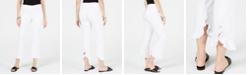 INC International Concepts I.N.C. Curvy Ruffled-Hem Ankle Skinny Pants, Created for Macy's