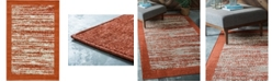 Bridgeport Home Pashio Pas4 Terracotta 4' x 6' Area Rug