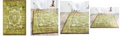 Bridgeport Home Linport Lin7 Green 2' x 3' Area Rug