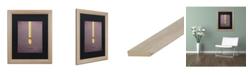 "Trademark Global Christian Jackson 'Rapunzel' Matted Framed Art - 16"" x 20"""