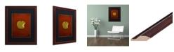 """Trademark Global Christian Jackson 'Snow White' Matted Framed Art - 16"""" x 20"""""""