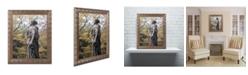 """Trademark Global Jason Shaffer 'Cemetery' Ornate Framed Art - 16"""" x 20"""""""