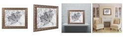 """Trademark Global Jason Shaffer 'Encased in Ice' Ornate Framed Art - 20"""" x 16"""""""