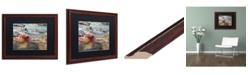 "Trademark Global Jason Shaffer 'Maple Creek' Matted Framed Art - 20"" x 16"""
