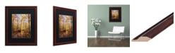 """Trademark Global Jason Shaffer 'Morgan Street 2' Matted Framed Art - 16"""" x 20"""""""