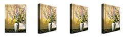 "Trademark Global David Lloyd Glover 'Bouquet Impressions' Canvas Art - 32"" x 26"""