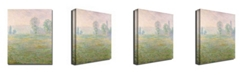 "Trademark Global Claude Monet 'Meadows in Giverny, 1885' Canvas Art - 47"" x 35"""