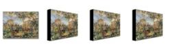 """Trademark Global Pierre Auguste Renoir 'Landscape at Beaulieu' Canvas Art - 47"""" x 30"""""""
