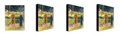 "Trademark Global Paul Gauguin 'Bonjour Monsieur Gauguin' Canvas Art - 24"" x 18"""