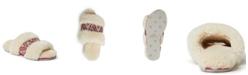 Dearfoams Women's Plush Slide Slippers, Online Only