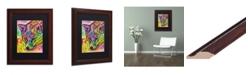 """Trademark Global Dean Russo 'Fox' Matted Framed Art - 11"""" x 14"""""""