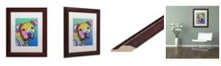 """Trademark Global Dean Russo 'Zeus Custom 004' Matted Framed Art - 11"""" x 14"""""""
