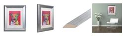 """Trademark Global Dean Russo 'Khalessi' Matted Framed Art - 11"""" x 14"""""""