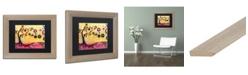 "Trademark Global Natasha Wescoat '087' Matted Framed Art - 11"" x 14"""
