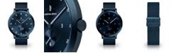 Lilienthal Berlin L1 All Blue Mesh Watch 42mm
