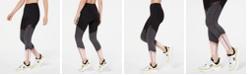 Calvin Klein Colorblocked Mesh-Trimmed Leggings
