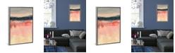 "iCanvas Paynes Horizon Ii by Jennifer Goldberger Gallery-Wrapped Canvas Print - 40"" x 26"" x 0.75"""