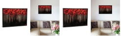 """iCanvas Blossom Ii by Osnat Tzadok Gallery-Wrapped Canvas Print - 18"""" x 26"""" x 0.75"""""""