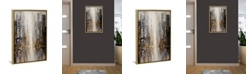 """iCanvas Silver City by Osnat Tzadok Gallery-Wrapped Canvas Print - 26"""" x 18"""" x 0.75"""""""