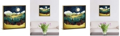 """iCanvas Autumn Moon by Spacefrog Designs Gallery-Wrapped Canvas Print - 26"""" x 26"""" x 0.75"""""""