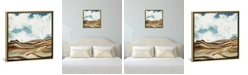 """iCanvas Desert Calm by Spacefrog Designs Gallery-Wrapped Canvas Print - 37"""" x 37"""" x 0.75"""""""