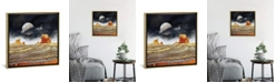 """iCanvas Metallic Desert by Spacefrog Designs Gallery-Wrapped Canvas Print - 37"""" x 37"""" x 0.75"""""""