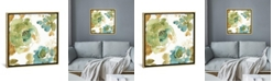 """iCanvas My Greenhouse Roses Ii by Lisa Audit Gallery-Wrapped Canvas Print - 18"""" x 18"""" x 0.75"""""""