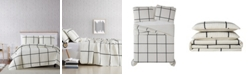 Truly Soft Kurt Windowpane Twin XL Quilt Set