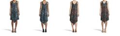 John Paul Richard Printed Point Hem Dress