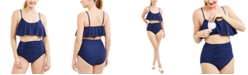 Motherhood Maternity High-Waisted Nursing Bikini
