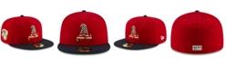 New Era Boys' Oakland Athletics Stars and Stripes 59FIFTY Cap