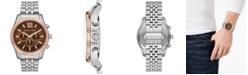 Michael Kors Men's Chronograph Lexington Two-Tone Stainless Steel Bracelet Watch 44mm