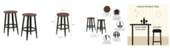 "Trademark Global Lavish Home 24"" Bar Stool, Set of 2"