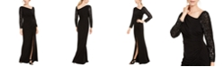 Adrianna Papell Asymmetrical Gown