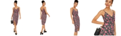 Betsey Johnson Rose Leopard-Print Sheath Dress