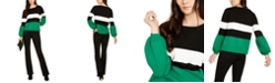INC International Concepts I.N.C. Puff-Sleeve Sweater & Bootcut Pants, Created for Macy's